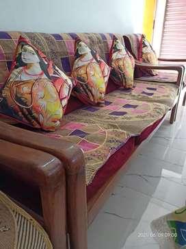 Wooden Sofa set 5seater
