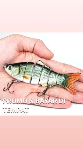 KAIL PANCING BERBENTUK IKAN HIDUP//PROMO//BESTSELLER//DOUBLE KAIL
