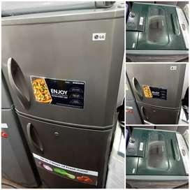 Good Looking Double Door Fridge and 5year Warranty
