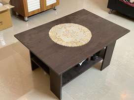 MDF Center Table 3 years old. Gently used.