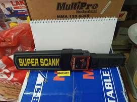 Safety metal detector / pendeteksi logam atau besi