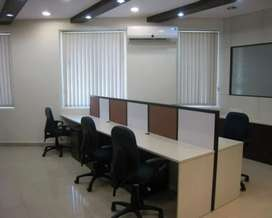 10Work Stations Office Space available for rent in Gandhipuram 400Sqft