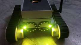 Gesture controlled robotic car for mute