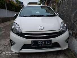 Toyota Agya G At 2014 km. 16 rb Antik Mirah