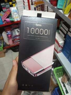 powerbank/pb-remax 10000mAh-dua usb-bagus