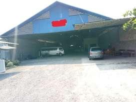 Tanah dan bagunan Workshop Dijual/Sewa