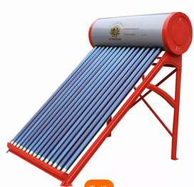 Solar geyser with Automat Controller nd Electric water heater