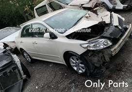 Toyota Corolla Altis Spare Parts