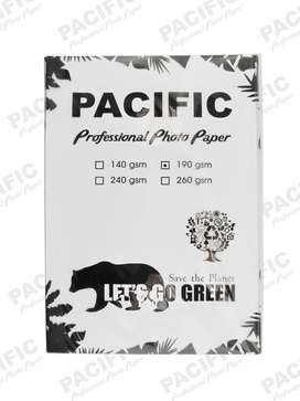 Kertas Foto Glossy Photo Paper A4 190 Gsm Pacific Premium - Isi 20
