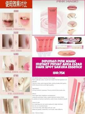 Difuman Pink Sakura Flower Essence Gell For Privat Area