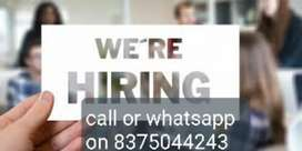Simple ad posting job at your home