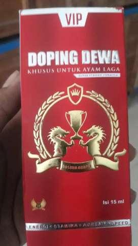 Doping Ayam Jago