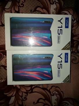 Vivo Y15 4gb 64gb box pack phone (all mobile model available)