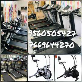 Exercise Cycles hi Cycles or bench dumble or Treadmills