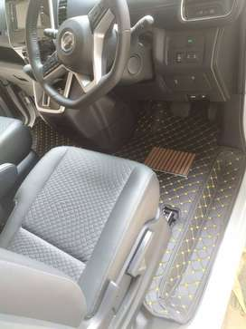 Karpet Nissan Serena C26 C27 Synthetic Leather Carmats