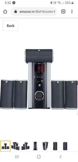 I ball booster speaker 5.1