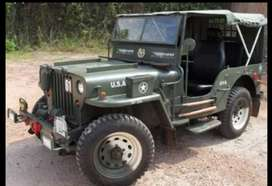 Modfied willy jeep