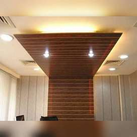 pvc panal. 90rs.per.sq.foot.with fitting