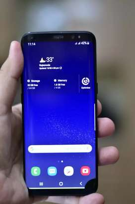 Samsung s8 4/64 pta block Sim working ( no exchange) cash sale only