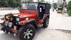 Jeep newly modified