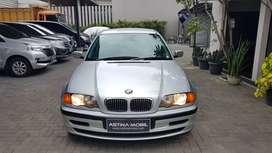 ANTIK BMW 318i 1.9 E46 AT Matic 2000 Silver ASTINA MOBIL KM 113.000