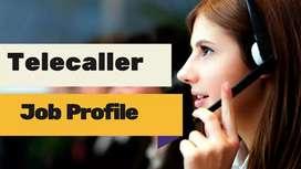 Direct office telecaller job...only for girls
