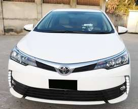 Toyota Corolla Altis 1.6 Model: 2019 on easy installment
