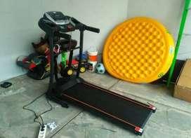 alat fitnes impor <>treadmil elektrik VR 04