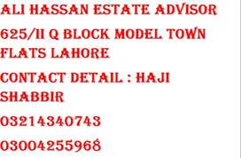 Single room independent Furnished flat for rent in Model Town Lahore