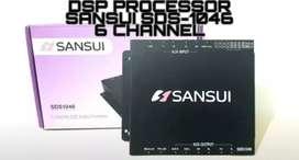 Processor SANSUI 6chanel buat yg mau Upgrade audio Jadi LEBIH MEWAH