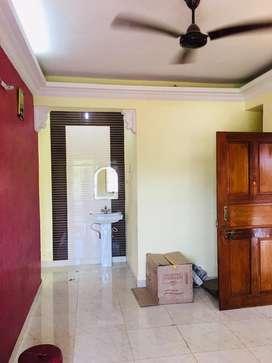 1bhk unfurnished flat for rent in porvorim