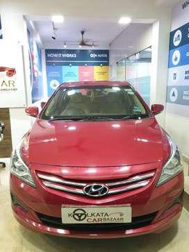Hyundai Verna Fluidic 1.4 VTVT, 2016, Petrol