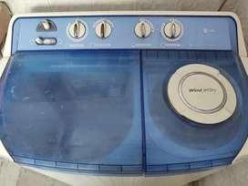 LG semi automatic 7.2 kg
