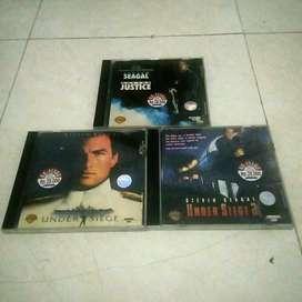 Koleksi Kaset Film VCD Original Steven Seagal