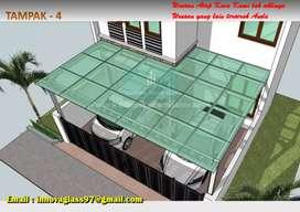 Kanopy atap kaca