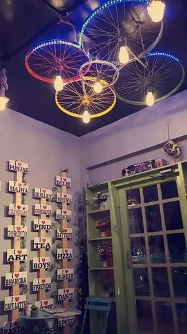 Very Beautiful European Style Cafe for Sale in Sunny Enclave, Kharar