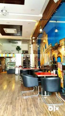 Running Cafe Restaurant For Rent Fully Furnished Call For more Info