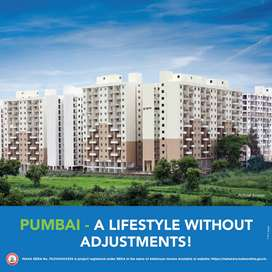 Ready to move 1 bhk flat at 21.43 Lakh(all incl) in Shirgaon,Talegaon