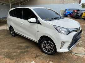 Dijual Toyota Calya G A/T tahun 2019 warna Putih