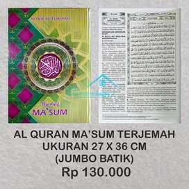 Al Quran Ma'sum Terjemah murah (Purworejo)