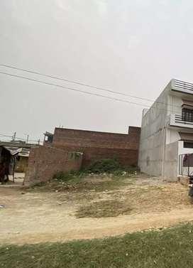 1200 square feet plot for sale near Tiwari pur Chhatha meal