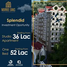 Studio 1 and 2Bedrooms Flat For Sale in Murree Oaks Hotel apartments