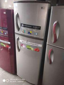 LG DOUBLE DOOR FRIDGE GENTLY USED WITH WARRANTY+DELIVERY