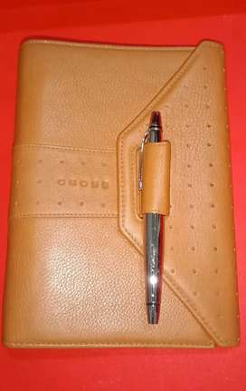 Cross Leather Agenda Exclusive Asli