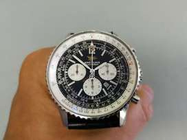 Breitling Navitimer Chronograph 50th Anniversary reversed Panda Dial