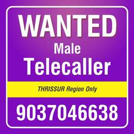 WANTED MALE TELECALLERS..!