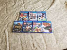 Sony PS4 Video games collections -  FIFA LEGO Star Wars Formula 1