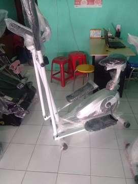 Sepeda eliptical bike statis