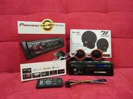 TWEETER HIFINE+Pioneer MVH-S115UI Digital Audio Receiver Single Din