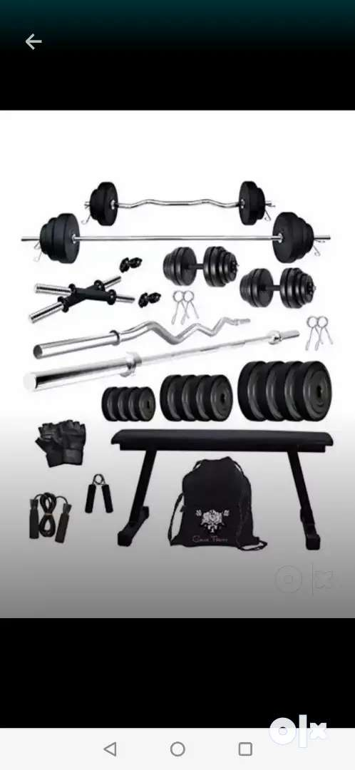 Home gym equipment set with 2yrs warranty